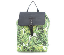 Pack Me! Rucksack grün/weiß