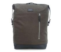 Grand Canvas Adam Laptop-Rucksack 15″ dunkelgrün