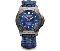 I.N.O.X. Professional Diver Taucheruhr grau/blau