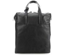 Die Zeit 17 Rucksack-Tasche 14″ schwarz