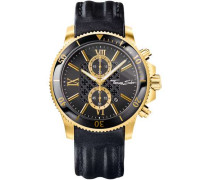 Rebel Race Chronograph gold/schwarz