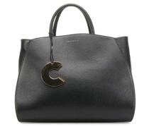 Concrete Handtasche schwarz