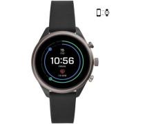 Sport Smartwatch schwarz/grau
