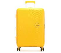 Soundbox 4-Rollen Trolley gelb 67 cm