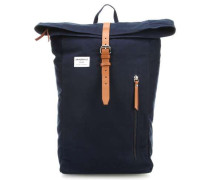 Ground Dante Rolltop Rucksack 14″ blau