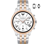 Connected Smartwatch roségold/silber