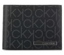 Industrial Mono Gift Box Geldbörse schwarz