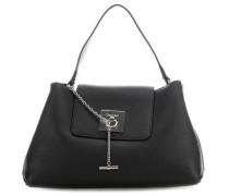 Lock Handtasche schwarz