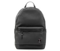 Rucksack schwarz/grau