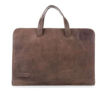 Simplicity Laptoptasche 15.6″ taupe