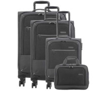 Arona 4-Rollen Trolley Set anthrazit