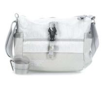 Qukoo Nylon Put Sick Handtasche silber
