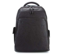 Black Square Laptop-Rucksack 15″ braun