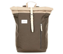 Ground Dante Rolltop Rucksack 14″ mud