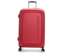 Logoduck + 4-Rollen Trolley rot 69 cm