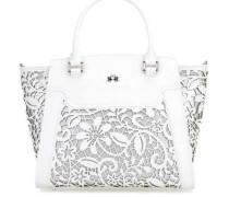 La Portena Lace Handtasche weiß