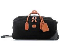 Life Rollenreisetasche schwarz 55 cm