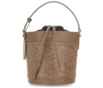 Mosaic Bucket bag sand