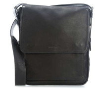 Ivy Lane L 11'' Laptop Messenger schwarz