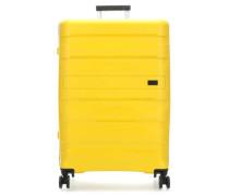 Kosmos 4-Rollen Trolley gelb 77 cm