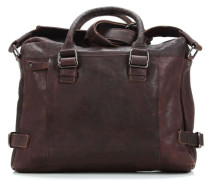 R. Johnson Laptoptasche 14″ braun