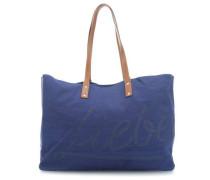 Liebe Venezia Shopper blau