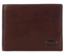 Monte Rosa RFID Geldbörse dunkelbraun