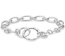 Kreis Armband silber