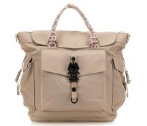 Roots Strong Persistpony Handtasche beige
