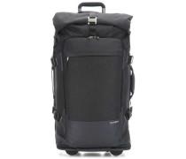 Ziproll Rollenreisetasche schwarz