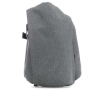 Eco Yarn Isar Large Laptop-Rucksack 17″ grau