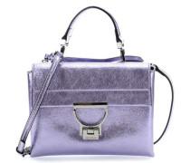Arlettis Glitter Schultertasche violett