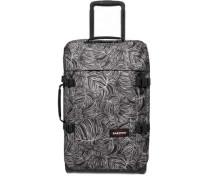 Tranverz Rollenreisetasche schwarz/weiß