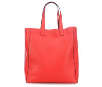 Calf Adria Doubleface Reversible Shopper rot