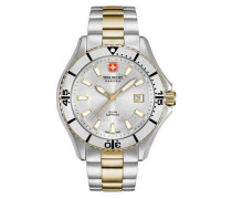 Swiss Military Hanow Nautila Gents Quarzuhr silber