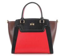 Portena Handtasche rot/schwarz