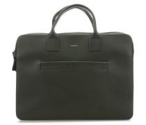 Leather Classic Seth Aktentasche 15″ grün