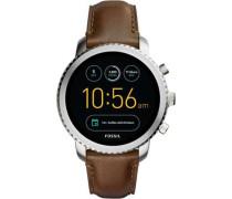 Q Explorist Smartwatch silber metallic