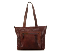 Authentic Schultertasche cognac