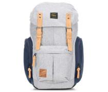 Daypacker Rucksack 15″ grau/blau