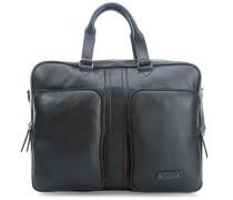 Gordon 2 17'' Aktentasche mit Laptopfach schwarz