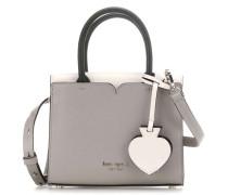 Spencer Handtasche grau/weiß
