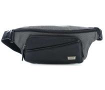 Monza Gürteltasche schwarz/grau