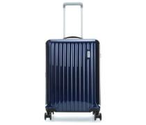 Riccione 4-Rollen Trolley blau 55 cm
