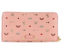 Caroline RFID Geldbörse rosa
