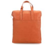 Die Zeit 17 Rucksack-Tasche 14″ cognac