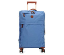 X-Travel 4-Rollen Trolley hellblau cm