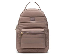 Quilted Nova Small Rucksack taupe