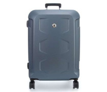 PC Hardside 4-Rollen Trolley blau 69 cm