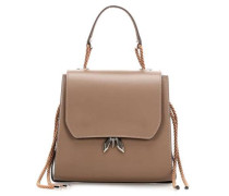 Sleepy Fly Schultertasche taupe